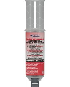 MG Chemicals 9200FR Flame Retardant Structural Adhesive, 25 mL Dual Syringe