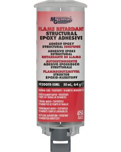 MG Chemicals 9200FR Flame Retardant Structural Adhesive, 50 mL Dual cartridge
