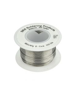 SRA Lead Free Acid Core Solder, 96/4 .032-Inch, 4 Ounce Spool