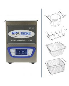 SRA TruPower® UC-20D-PRO Professional Ultrasonic Cleaner, 2L