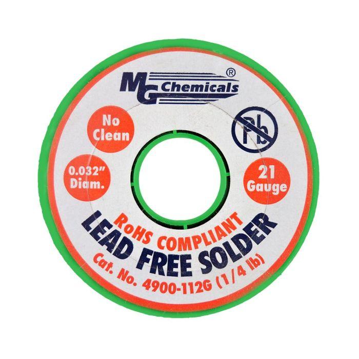 Wire SAC 305 No-Clean Core. 032, 1/4 lb